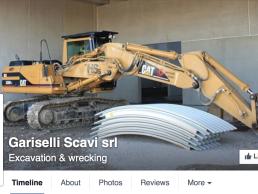Gariselli Scavi Pagina Facebook